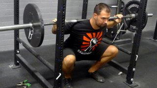 High-Bar Back Squat