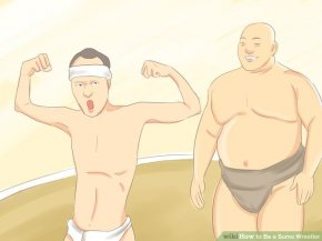 visual called Be a Sumo Wrestler Step 3