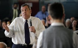 New Jersey Gov. Chris Christie was criticized by outdoors State residents for his response to flooding damage into the state.